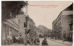 Forbach : La Rue Nationale (Editeur Ad. Weick, Saint Dié, N°12659) - Forbach