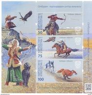 2017. Kyrgyzstan, Salbuurun-traditional Kyrgyz Hunting,  S/s, Mint/** - Kyrgyzstan