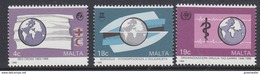 Malta 1988 Anniversaries 3v ** Mnh (33834A) - Malta