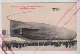 Cpa St003626 Atterrissage D'un Zeppelin Allemand à Lunéville Avril 1913 , Luftschiff - Dirigibili