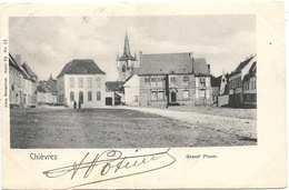 Chièvres NA13: Grand'Place 1902 - Chièvres