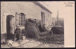 LA SEMOIS - Eplucheuse De Canadas ( Tabac ) - Tobacco - Tabak - Agriculture