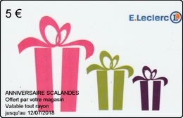 ##   Carte  Cadeau  LECLERC  ( Régionale) ##  Gift Card, Giftcart, Carta Regalo, Cadeaukaart - Gift Cards