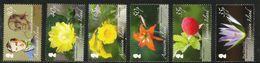 2009 Ascension Botany Flowers Complete Set Of 6 MNH - Ascensione