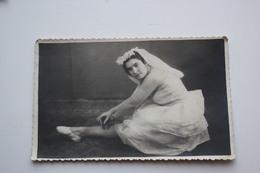PIN-UP SEXY Photo Original D'epoca Format Carte Postale   - Ballet - Soviet Dancer - Plump Busty Fatty - Pin-Ups