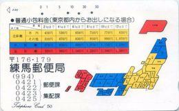 Telefonkarte Japan -  Werbung  -  110-46 - Japan