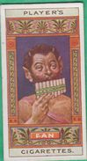 Chromo John Player & Sons, Player´s Cigarettes, Egyptian Kings & Queens And Classical Deities - Pan N°17 - Player's