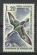 FRENCH  ANTARCTIC TERRITORY  TAAF  1976  BIRD,SHAG   MH - Non Classés