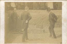 Originele Foto Op Hard Karton (9 X 13 Cm) Eerste Steenlegging ? Fotograaf Meyers Et Hautvast => Liège ? - Orte