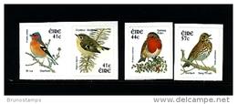 IRELAND/EIRE - 2002  BIRDS  SELF-ADHESIVE SET MINT NH - Nuovi