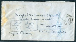 China Peking - Tientsin Italy Italian Consul Cover + Letter. Consulate Diplomatic Registered - China