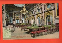 JAH-12 Casino, De Monte Carlo  La SAlle Garnier. Cachet Frontal 1909 Pour Lyon - Casino