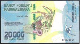 Madagascar 20000 Francs 2017 UNC - Madagascar