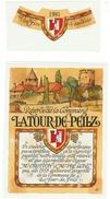 Rare // La Tour-de-Peilz 1981, Réserve De La Commune, Vaud // Suisse - Etiquettes