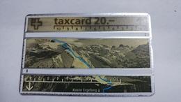 Switzerland-(s032.a-p32)-jahre Erstbesteigung Titlis250-(20chf)-(401d)-tirage-100.000-used Card - Schweiz