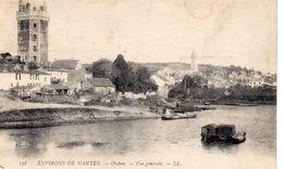 Oudon Belle Vue Du Village La Tour La Loire Péniche Gabare Batellerie Navigation - Oudon