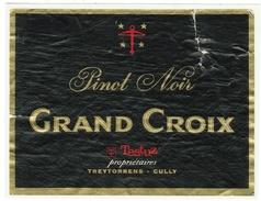 Rare // Pinot Noir, Grand Croix J.P. Testuz, Trytorrens-Cully, Vaud // Suisse - Etiquettes