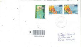 Italia 2010 Busta Viaggiata Italia Con Bolli  See Scan Racc/prioritaria/Ord. - 6. 1946-.. Repubblica