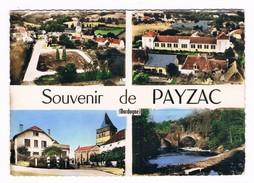 PAYZAC  24  Multi Vues Avec 4 Photos - Frankreich