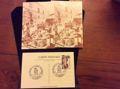 Barjac Cpm ( Salon De La Carte 1979)première Jours Attelage De Chien - France