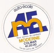 68 - Colmar Autocollant Stickers Auto Ecole Moderne - Autocollants