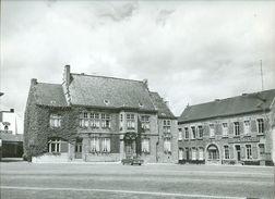 Grote Foto (30,5 X 22,5 Cm) Chievres Grand Place Hotel De Croy - Chièvres