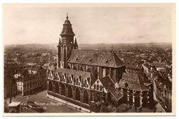 CPA DE BRUXELLES (BELGIQUE)  PANORAMA PRIS DE LA MAISON DU PEUPLE - Monumenten, Gebouwen