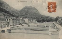 CPA 38 - Grenoble - Le Quais Et Le Saint Eynard - Grenoble