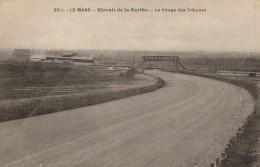 CPA 72 - Le Mans - Circuit De La Sarthe - Virage Des Tribunes - Le Mans