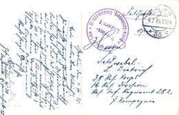 1915 , ALEMANIA , TARJETA POSTAL CIRC. MAT. BERLIN - UNTER DEN LINDEN , FRIEDRICHSTRASSE - Cartas