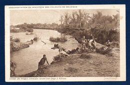 Soldats Des Troupes Coloniales Belges Lavant Leur Linge à Kilossa En Afrique Orientale Allemande ( 1917). 1925 - Guerre 1914-18