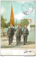 "TPC-053 OTTOMAN SOLDIERS AND FLAG 1912 """""""" BECHIKTACHE - ERENKEUI """""""" - Uniforms"