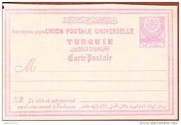 TPC-343 OTTOMAN AN-23 1884-91 CRESCENT EMPIRE OTTOMAN POSTCARDS NEUF - Briefe U. Dokumente