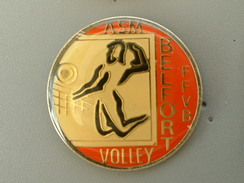 PIN´S  VOLLEYBALL - ASM BELFORT FFVB - Volleyball