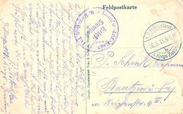 1915 , ALEMANIA , TARJETA POSTAL CIRC. A BAUTZEN , FELDPOSTSTAMT , D. KORPS ZASTROW - LANDW . INF . REGT. 9 KOMP . 101 - Cartas