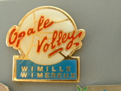 PIN´S  VOLLEYBALL - OPALE VOLLEY - WIMILLE WIMEREUX - Volleyball
