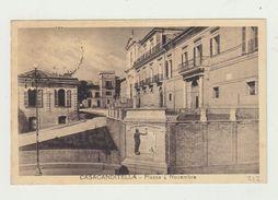 CASACANDITELLA (CHIETI) PIAZZA 4 NOVEMBRE - VIAGGIATA - ITALY POSTCARD - Chieti