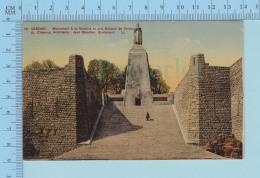 Verdun France - Monument à La Victoire Et Aux Soldats De Verdun -  2scans - Monuments Aux Morts