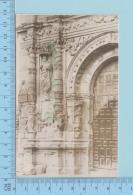 Mexico Acolman -Detail Of The Portada Isquiz, Templo Del Ex Convento De San Agustín, Real Photo 2 Scans - Mexique