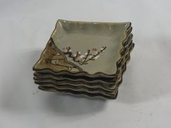 5 Small Ceramic Plates - Ceramics & Pottery