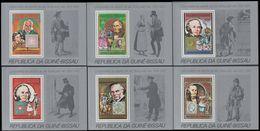 GUINEA-BISSAU 1979 Rowland Hill Stamps On Stamps Perf. DeLuxe:6 [épreuve Prueba Druckprobe] - Guinea-Bissau