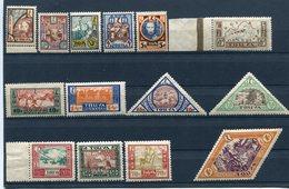 TANNU TUVA YR 1927,SC 15-28,MNH **,DIFFERENT TUVA SCENES - Tuva