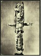 Figure Funeraire En Bois Polychrome  -  Musee D I´Homme Paris  -  Ansichtskarte Ca. 1988    (7521) - Museen