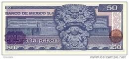 MEXICO  P. 73 50 P 1981 UNC - Mexique