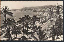 °°° 7221 - FRANCE - 06 - NICE - PROMENADE DES ANGLAIS - 1957 With Stamps °°° - Nice