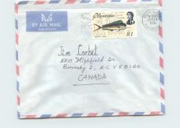 1976  Air Letter To Canada  SG 396 - Mauritius (1968-...)
