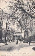 Cp , 75 , PARIS , Parc Monceau , Allée Du Parc - Parcs, Jardins