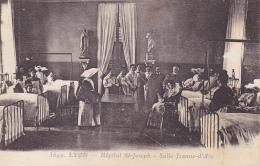 Lyon - Hôpital Saint Joseph - Salle Jeanne D'Arc ( Les Médecins Sont En Visite, Une Bonne-soeur Tient Les Registres) - Lyon 7