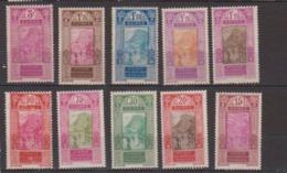 GUINEE         N° YVERT  :   107/114    NEUF AVEC CHARNIERES       ( Ch  956 ) - Guinée Française (1892-1944)