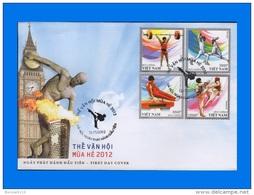 VN 2012-0008, Olympic Games London FDC - Vietnam